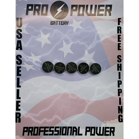 (5) Pro Power replacement for Panasonic CR2354 3V Lithium Coin (Extended Replacement Lithium Battery)