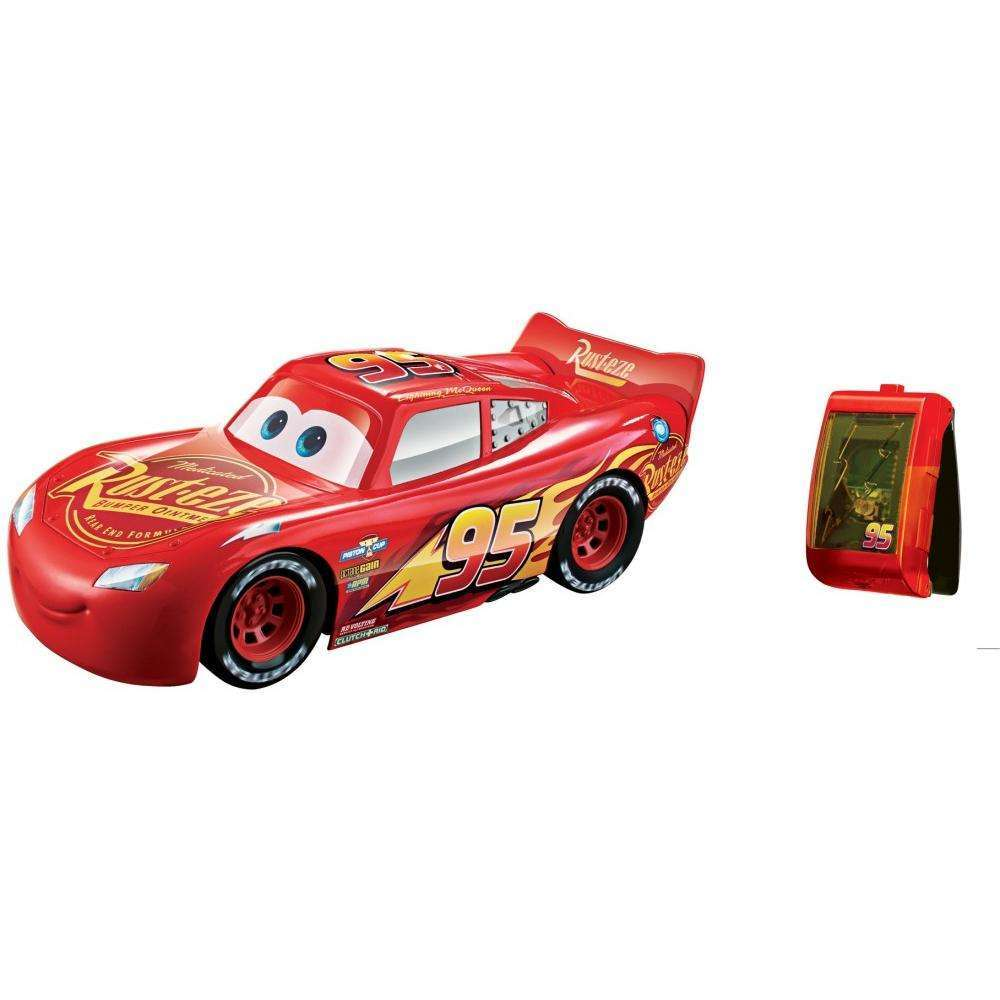 Disney pixar cars 3 smart steer lightning mcqueen walmart com