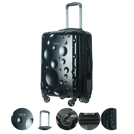 Overstock HyBrid Travel Sopron 3 Piece Luggage Set
