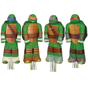 Nickelodeon Teenage Mutant Ninja Turtles Assorted Pull-String Pinata for $<!---->