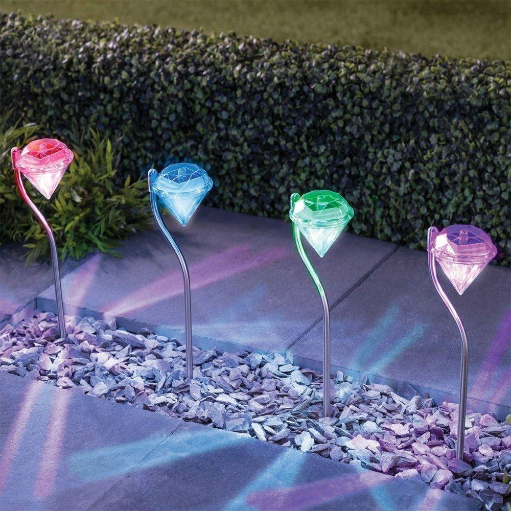 Christmas Solar Garden Lights Outdoor - SurLight Christma...