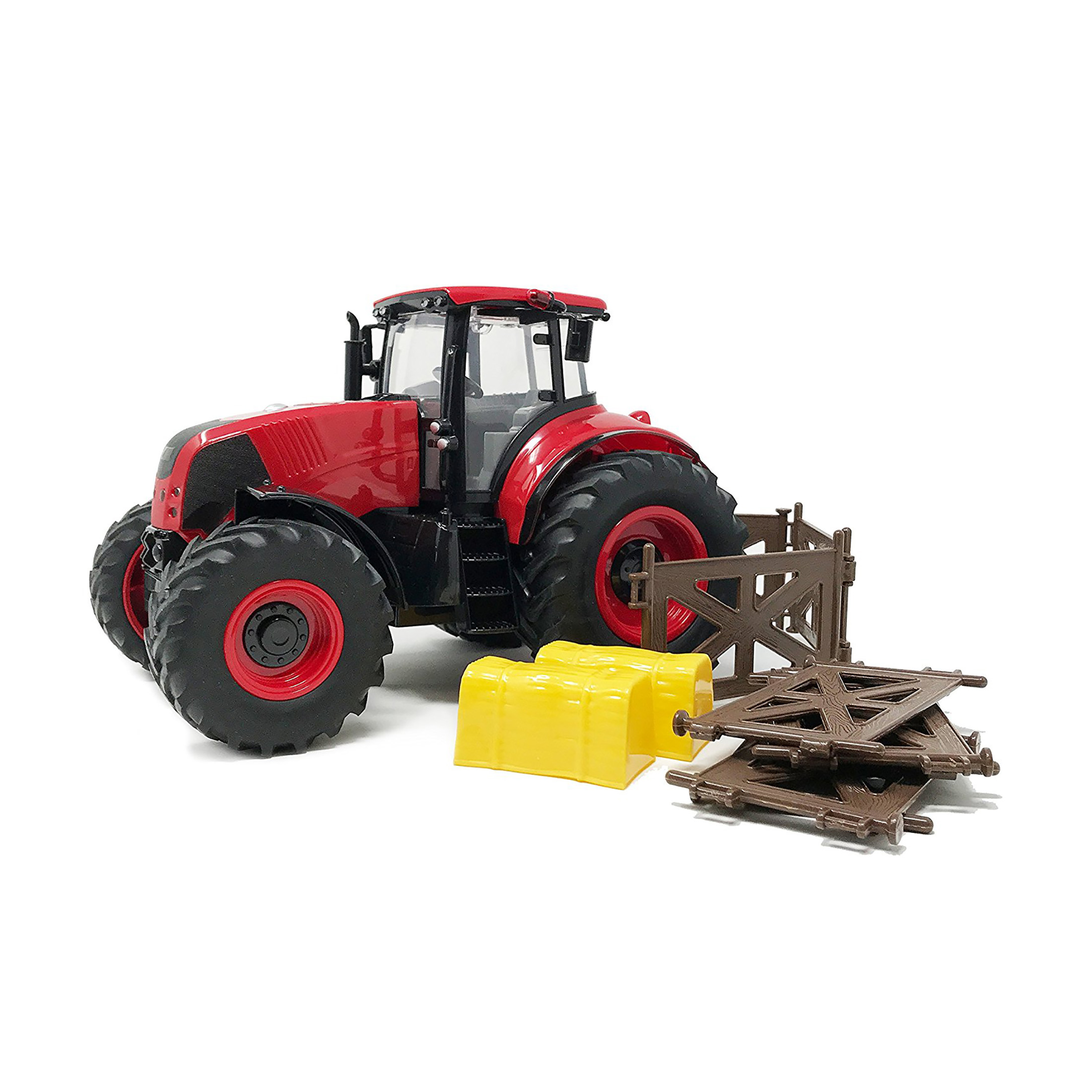 BOLEY Red Farm Tractor Toy by Boley