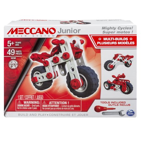 Meccano by Erector, Junior, 3 Model Building Kit, Mighty - Lightsaber Building Kit