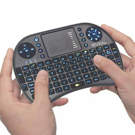 Rveal Mini Touchpad Remote; Keyboard