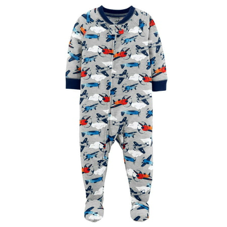 3ff609360 Child of Mine by Carter's - Baby Boy One Piece Footed Pajamas - Walmart.com