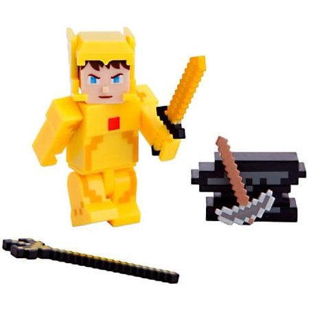 Terraria Gold Armor Player Action Figure with Accessories - Terraria Best Accessories