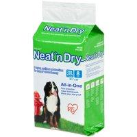 """IRIS Neat 'n Dry Premium Pet Training Pads, Super Jumbo, 38"""" x 50"""", 8 Count"""