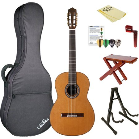 Cordoba C9 CD Acoustic Nylon String Classical Guitar with Polyfoam Case and ChromaCast