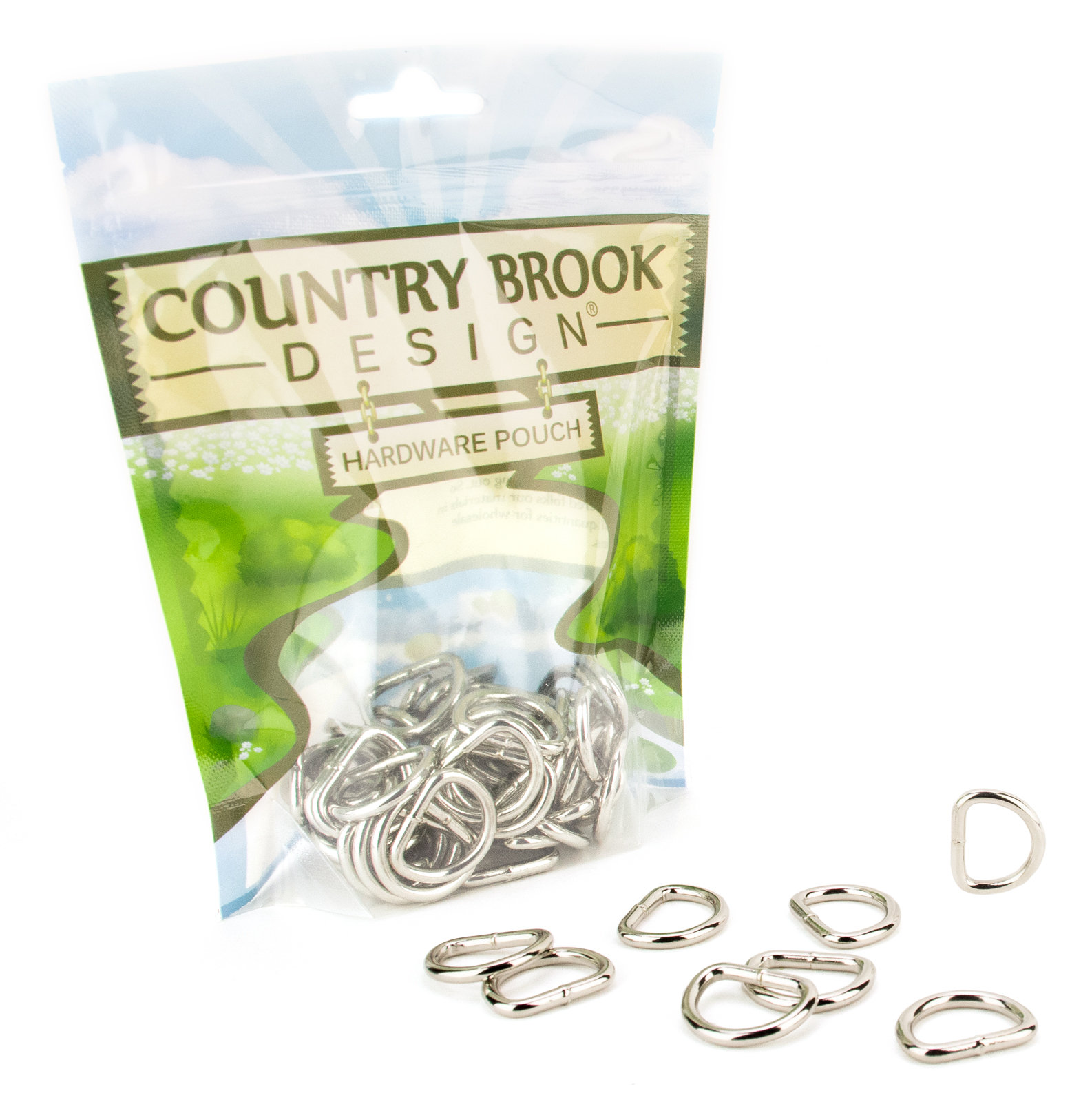 Country Brook Design® 3/4 Inch Welded D-Rings