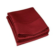 Impressions Cotton-Blend Checkered Pillowcase Set