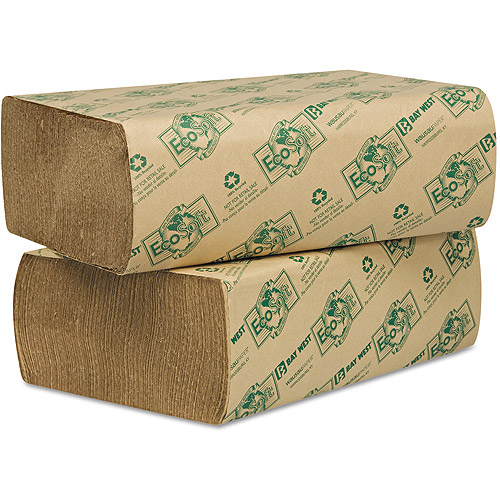 Wausau Paper Eco-Soft Natural Multi-Fold Paper Towels, 250 count, (Pack of 16)
