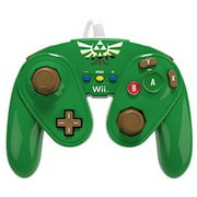 PDP Wired Fight Pad for Nintendo Wii U, Link, 085-006-LK