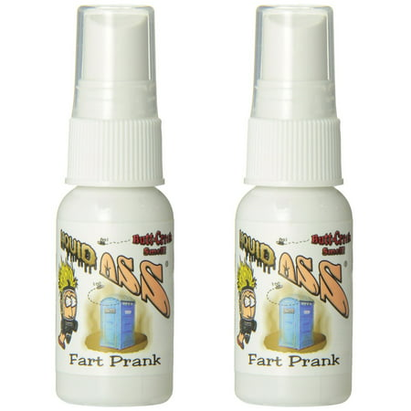 LIQUID ASS Fart Spray Nasty Foul Gas Smell Stink Bomb Funny Prank Joke Gag Gift - 2 pack