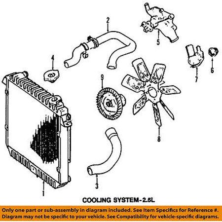 chrysler oem-engine cooling radiator fan clutch j3241858 image 1 of 1