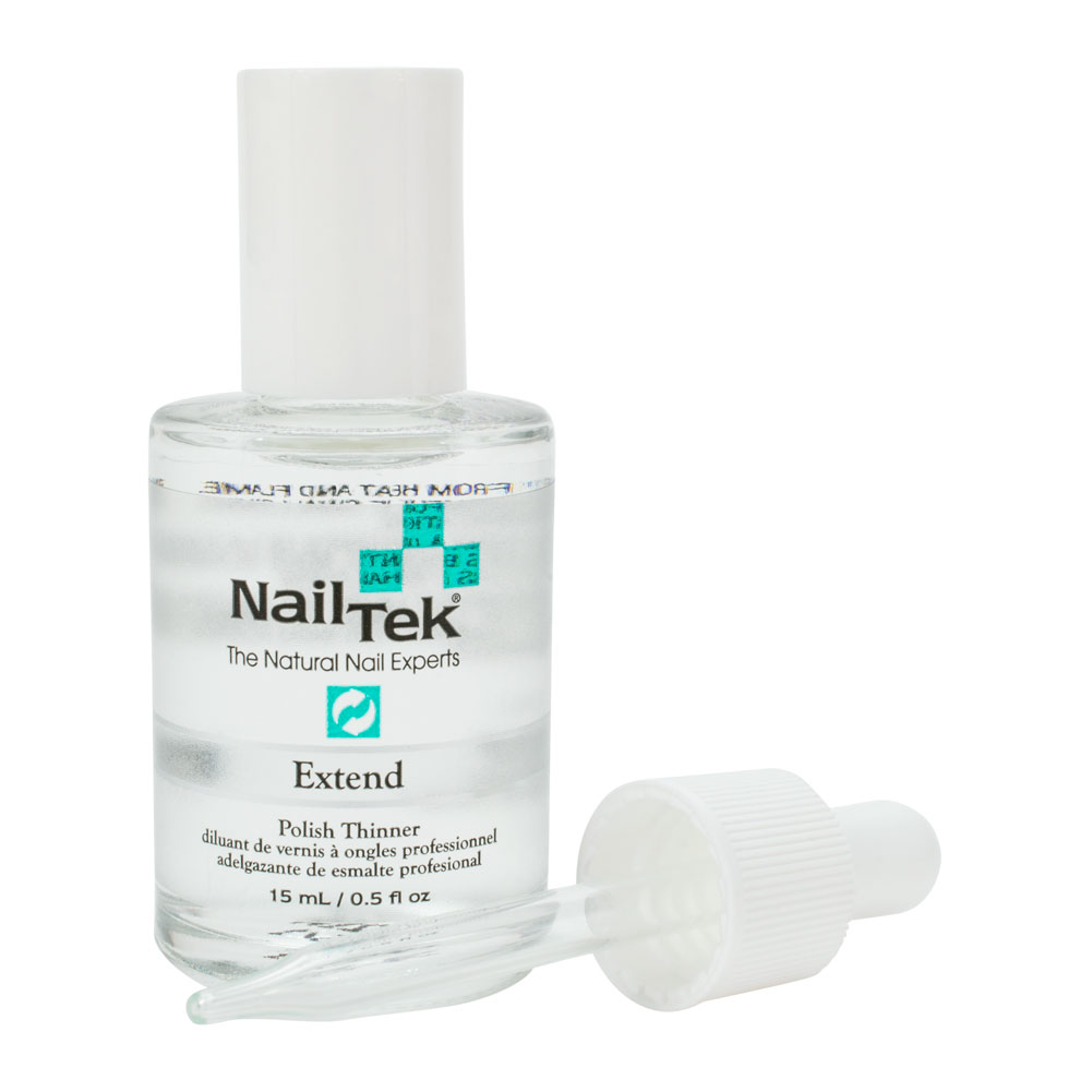 Nail Tek 0.5oz Extend Professional Nail Lacquer Polish Thinner ...