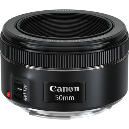 - Canon EF 50mm f/1.8 Fixed Focal Length Lens