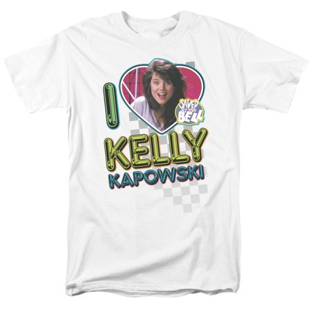 Saved By The Bell I Love Kelly   S S Adult 18 1   White   2X