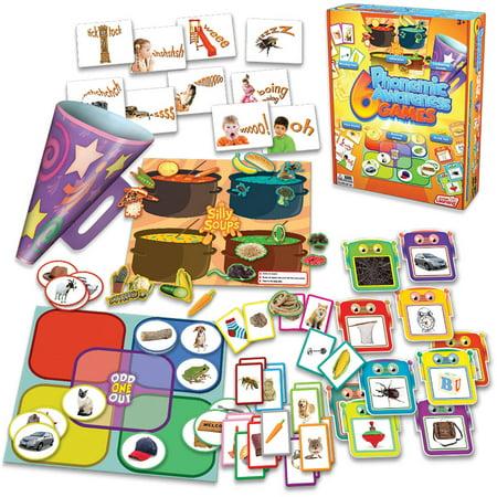 Junior Learning 6 Phonemic Awareness Games Learning Set (Lerning Games)