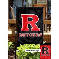 "Rutgers Scarlet Knights 13"" x 18"" College Garden Flag"