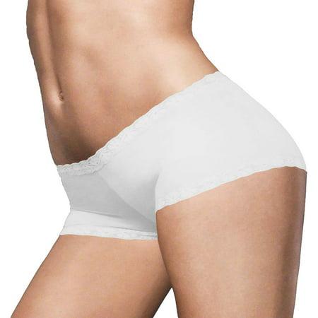 37fab4684ced Maidenform - Maidenform Women's Lace-Trim Boyshorts Panty, Style 40760 -  Walmart.com