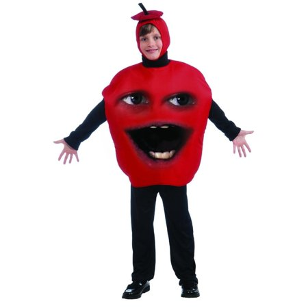 Annoying Orange Child Apple Costume One Size Fits Most - Annoying Orange Happy Halloween