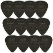 Dunlop Nylon Standard Guitar Picks - 12-Pack - 1.0mm - Black
