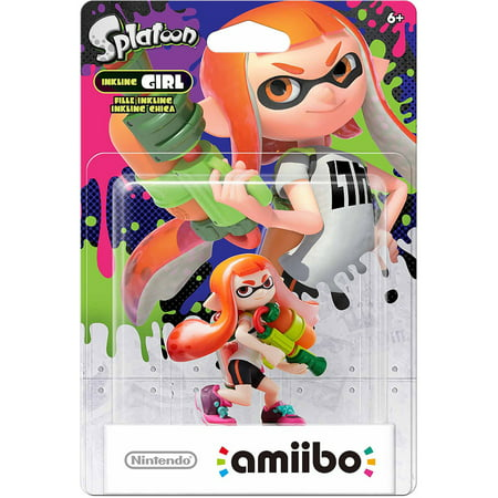 Inkling Girl Splatoon Series Amiibo  Nintendo Wiiu Or Nintendo 3Ds