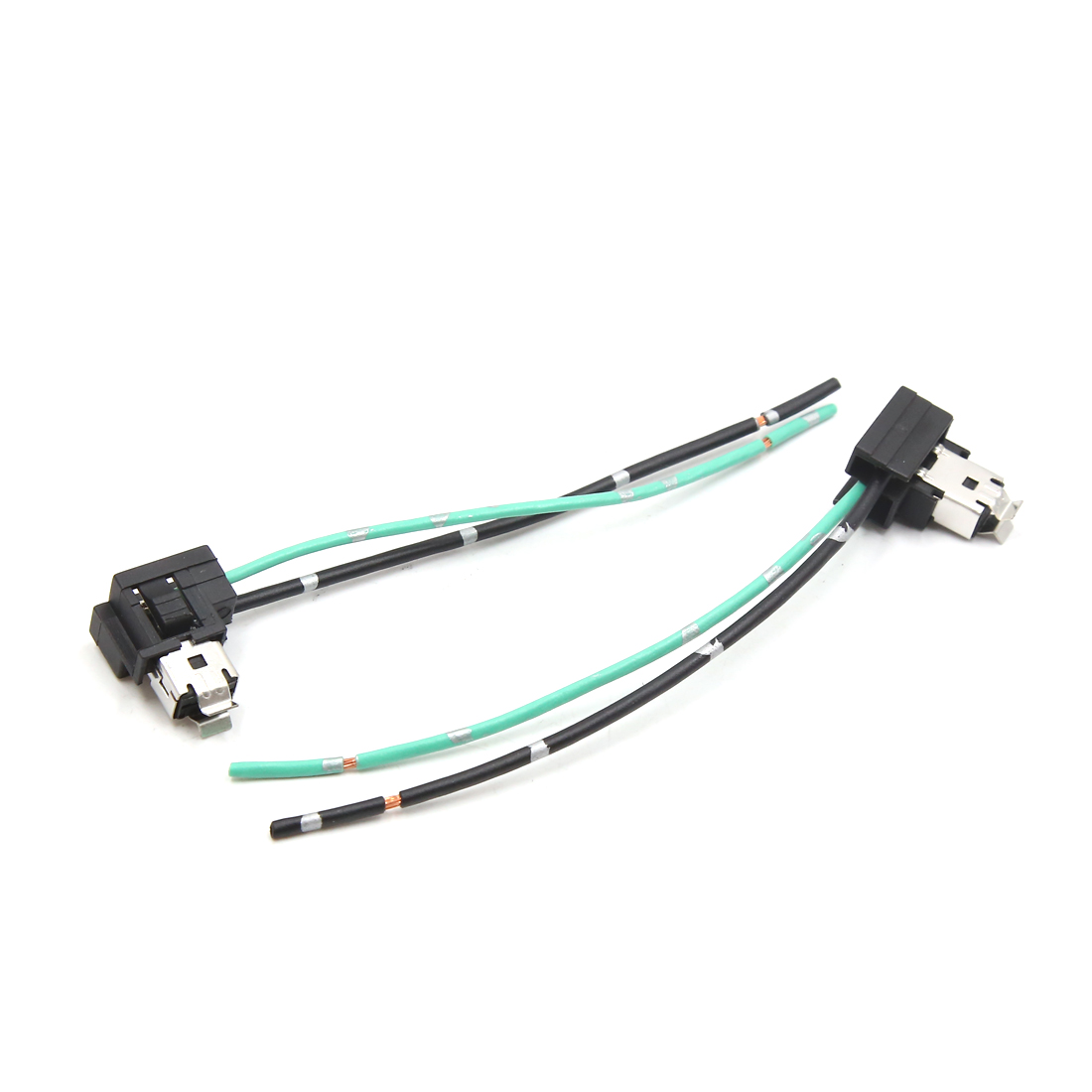 2Pcs H1 Halogen Fog Light Lamp Extension Wire Harness