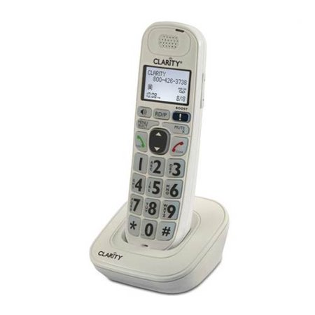 Refurbished Clarity D704HS Moderate Hearing Loss Expandable Handset Speakerphone for D724, D714 Amplified Cordless