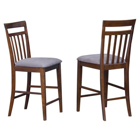 East West Furniture Counter Height Dining Chair With