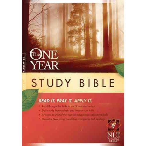 The One Year Study Bible: New Living Translation