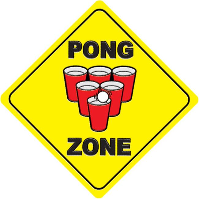 Pong Zone Pool Emblem 29 inches 67B00-00074