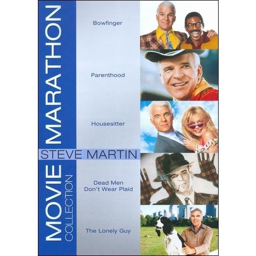 Movie Marathon Collection: Steve Martin - Bowfinger / Parenthood / Housesitter / Dead Men Don't Wear Plaid / The Lonely Guy (Widescreen)