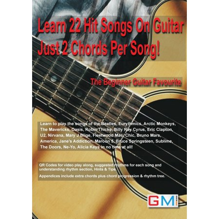 Learn 22 Hit Songs On Guitar Just 2 Chords Per Song!: The Beginners Guitar Favourite (Paperback) Flamenco Guitar Chords