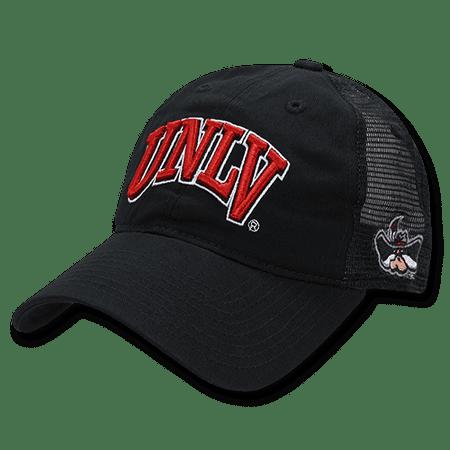 NCAA UNLV U of Nevada Las Vegas Rebels Relaxed Trucker Mesh Caps Hats