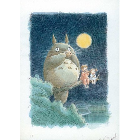 Halloween 1988 (Totoro (1988) 11x17 Movie)