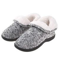 Women's Fuzzy Slippers Boots Memory Foam Booties House Shoes Indoor Outdoor