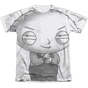 The Family Guy Stewie Head Mens Sublimation Shirt