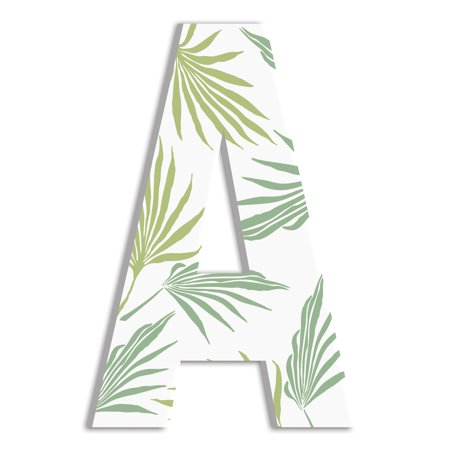 The Stupell Home Decor Collection Stupell Industries Oversized Tropical Leaves Hanging - Tropical Decor