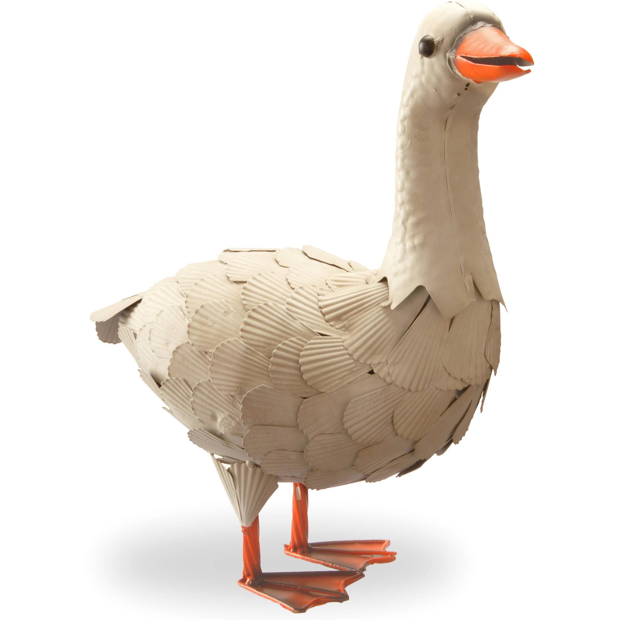 "16"" Garden Accents White Goose"