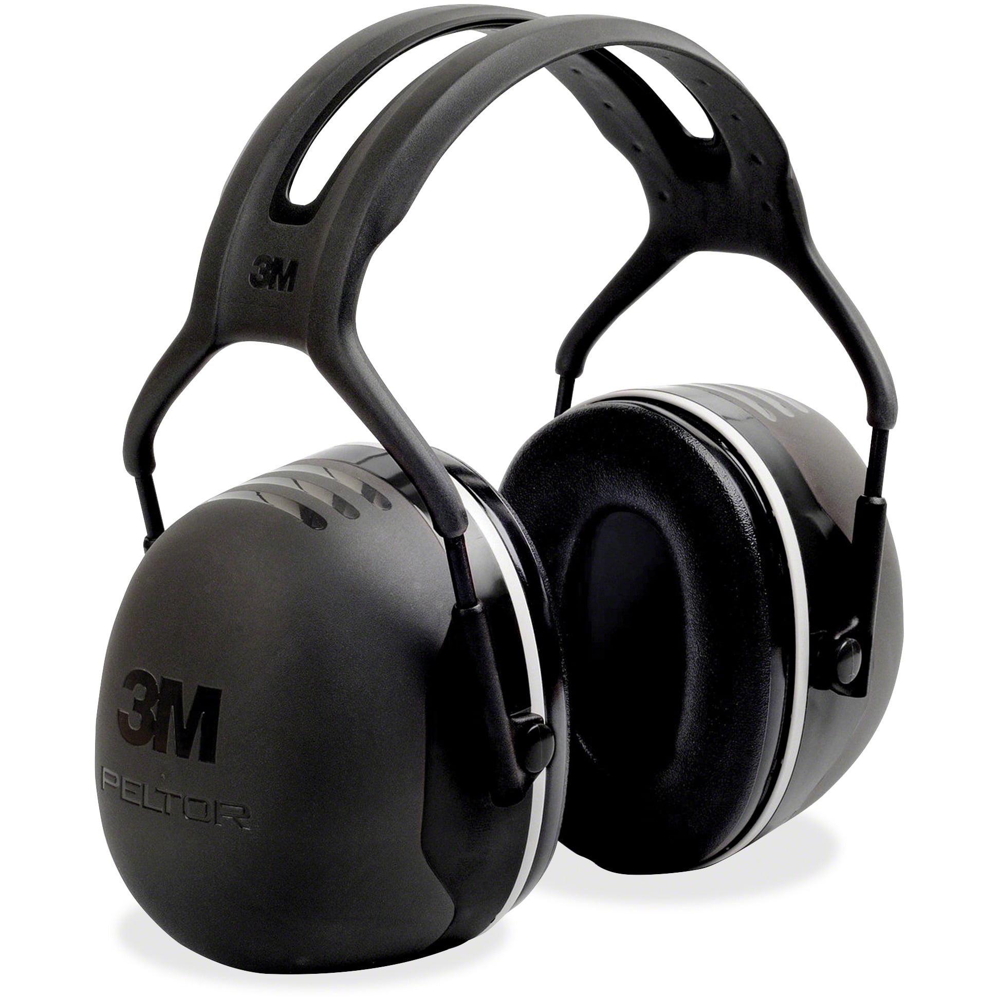 Peltor, MMMX5A, X-Series Over-The-Head X5 Earmuffs, 1 / Each, Black