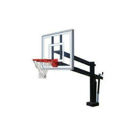 First Team Hydroshot Iii Adjustable Swimming Pool Basketball Hoop System