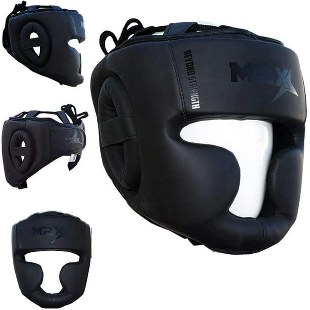 Head Guard Bar Helmet Training Kick Boxing Gear Face MMA Protection Headgear