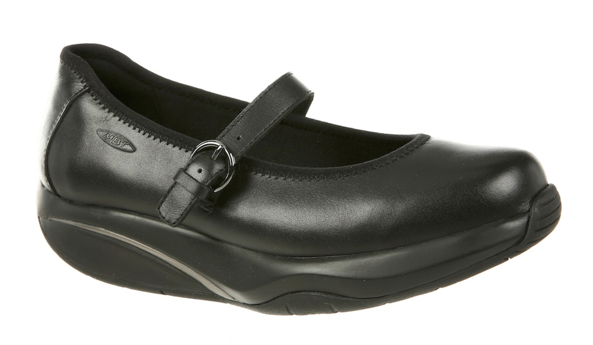 Mbt - MBT Shoes Women s Tunisha Mary Jane Casual Shoe  8 Medium (B)  Black Nappa Buckle - Walmart.com 43effddda