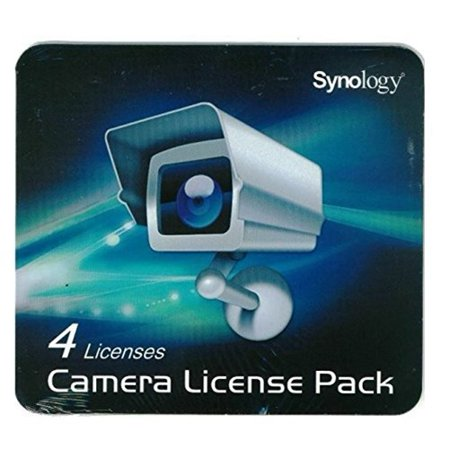 Synology - CLP4 - Synology Licence Pack - Synology IP Camera - License 4 Camera (Camera Surveillance Software)