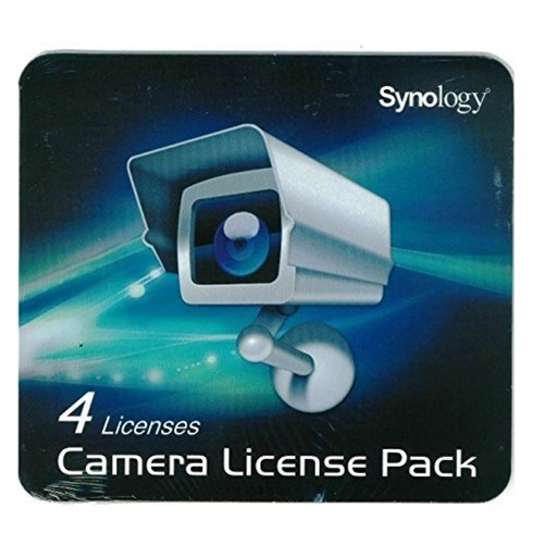 Synology - CLP4 - Synology Licence Pack - Synology IP Camera - License 4 Camera