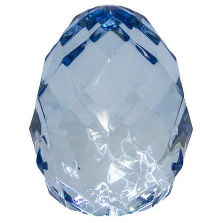 Ganz 2.5 Inch Crystal Expressions Acrylic Sitting Egg Figurine Sun -