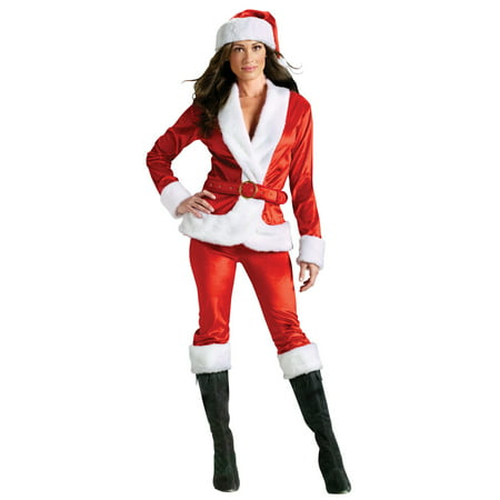 Mrs. Santa Suit Adult Costume