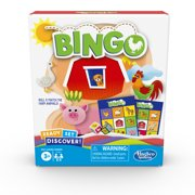 Ready Set Discover Bingo Game for Kids Ages 3 and Up, Game for 2-4 Players