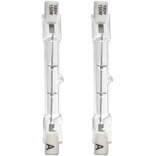 Brinks 2-Pack 150W T3 Halogen Outdoor Security Bulb - Walmart.com